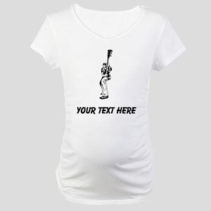 Guitar Player (Custom) Maternity T-Shirt