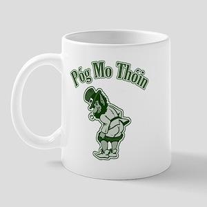 Pog Mo Thoin Leprechaun Mug