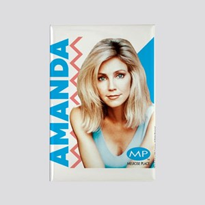 Melrose Place: Amanda Rectangle Magnet