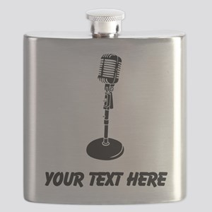 Retro Microphone (Custom) Flask