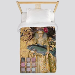 Renaissance fishing Gothic Whimsical Pisces Woman