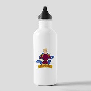 Futurama Zap Brannigan Stainless Water Bottle 1.0L