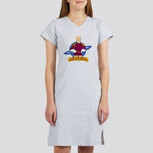 Futurama Zap Brannigan Serve Women's Nightshirt