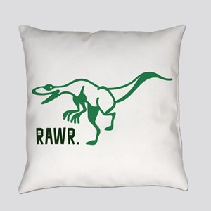 Rawr. Everyday Pillow
