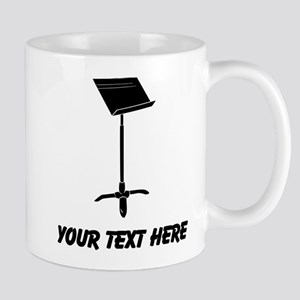 Music Stand (Custom) Mugs