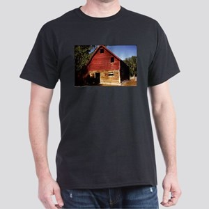 old view of cabin in Montana T-Shirt
