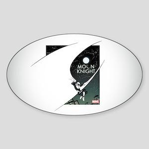 Moon Knight Cape Sticker (Oval)