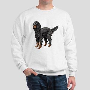 Gordon Setter Standing Sweatshirt