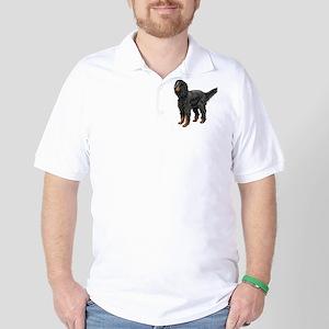 Gordon Setter Standing Golf Shirt