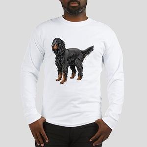 Gordon Setter Standing Long Sleeve T-Shirt
