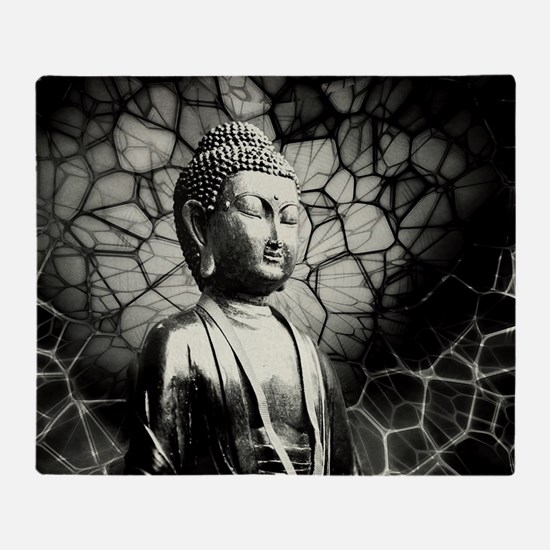 Cute Buddha Throw Blanket