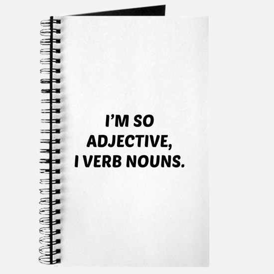I'm So Adjective Journal