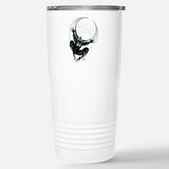 Moon Knight Leap Stainless Steel Travel Mug
