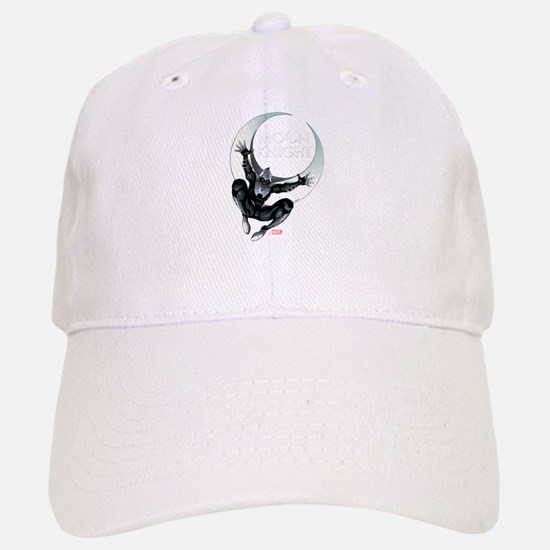 Moon Knight Leap Baseball Baseball Cap