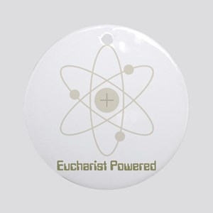 Eucharist Powered Round Ornament