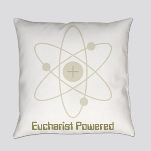 Eucharist Powered Everyday Pillow