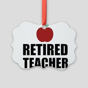 Retired Teacher Ornament