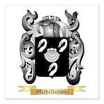 Michalkiewicz Square Car Magnet 3
