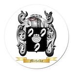 Michalke Round Car Magnet