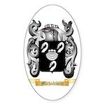Michalewicz Sticker (Oval 50 pk)