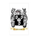 Michalek Sticker (Rectangle 50 pk)