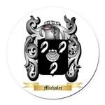 Michalec Round Car Magnet