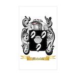 Michalak Sticker (Rectangle 10 pk)