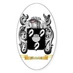 Michalak Sticker (Oval)