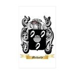 Michaely Sticker (Rectangle 50 pk)