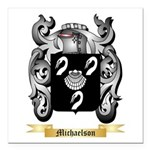 Michaelson Square Car Magnet 3