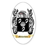 Michaelsen Sticker (Oval 10 pk)