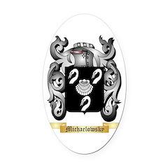 Michaelowsky Oval Car Magnet