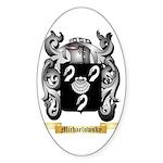 Michaelowsky Sticker (Oval 50 pk)