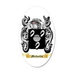 Michaelis Oval Car Magnet
