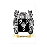 Michaelis Sticker (Rectangle 50 pk)