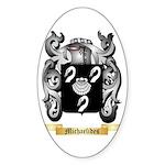 Michaelides Sticker (Oval 10 pk)