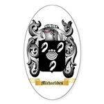 Michaelides Sticker (Oval 50 pk)