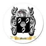 Micelli Round Car Magnet