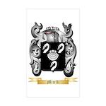 Micelli Sticker (Rectangle 50 pk)