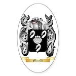 Micelli Sticker (Oval 10 pk)