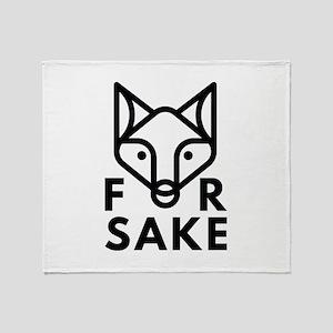 For Fox Sake Stadium Blanket