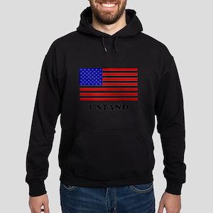 US Flag I Stand Sweatshirt
