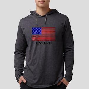 US Flag I Stand Long Sleeve T-Shirt