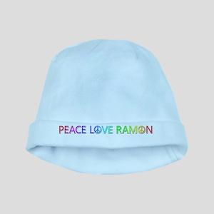 Peace Love Ramon baby hat