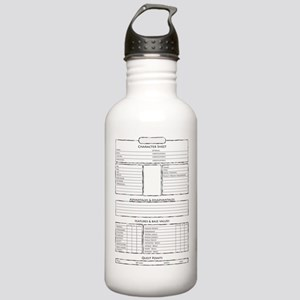 Role play game character sheet Water Bottle