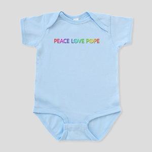 Peace Love Pope Body Suit