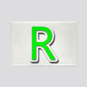 R Rectangle Magnet