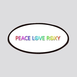 Peace Love Roxy Patch