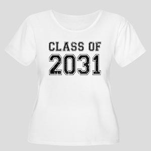 Class Of 2031 Plus Size T-Shirt