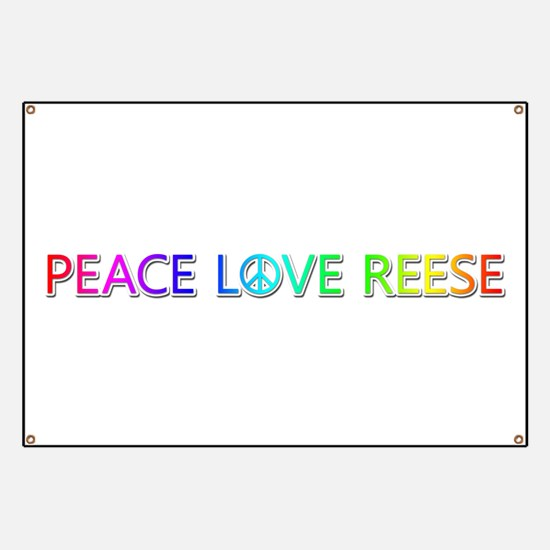 Peace Love Reese Banner
